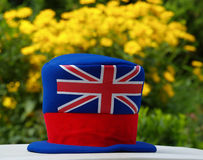 Union Jack. Hat with British flag on it Royalty Free Stock Photos