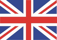 Union jack. An illustration of union jack flag Stock Images