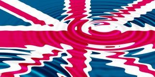 Union Jack royalty-vrije illustratie