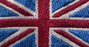 Union Jack Badge Royalty Free Stock Image