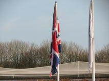 Union Jack - bandiera BRITANNICA Immagini Stock