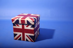 Union Jack box Stock Photos