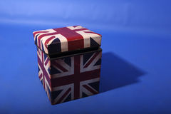 Union Jack box Stock Image