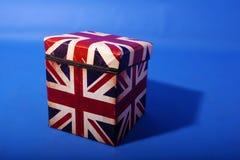 Union Jack box Royalty Free Stock Image