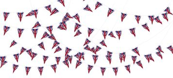 Union Jack Bunting and Banners Stock Photos