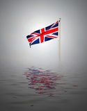 Union Jack concept Royalty Free Stock Photography