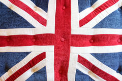 Union jack cushion Stock Photo