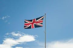 Union Jack (de Vlag van de Unie) van Groot-Brittannië Stock Foto's
