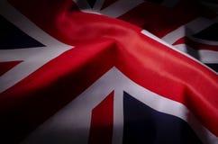Union Jack en sombras fotos de archivo