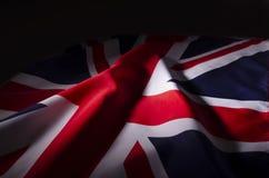 Union Jack en sombras foto de archivo libre de regalías