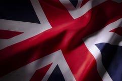 Union Jack en sombras fotos de archivo libres de regalías