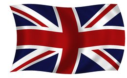Union Jack Flag. Created in photoshop cs2 this australian flag is huge at 300dpi. Flag is textured as well Royalty Free Stock Photography