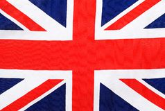 Union Jack flag. A photograph of the union jack flag royalty free stock photos
