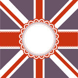 Union Jack Flag background Royalty Free Stock Images