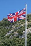 Union Jack Flag. Royalty Free Stock Photography