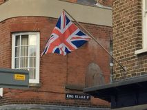 Union Jack Flag Royalty Free Stock Photography