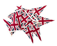Union Jack Flag Bunting Royalty Free Stock Images