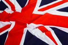 Union Jack flag. Closeup of Union Jack flag stock photos