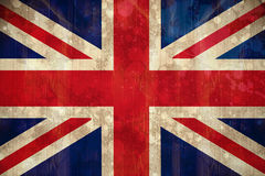 Union jack flag in grunge effect Royalty Free Stock Photography