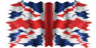 The Union Jack or Union Flag. The Union Jack, or Union Flag, is the national flag of the United Kingdom. The flag also has an official or semi-official status in Stock Photo