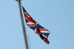 The Union Jack/flag. The National flag of the United Kingdom/Great Britain Stock Photography