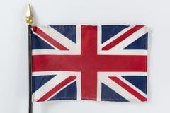 Union Jack Flag. Of the United Kingdom stock photo