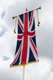 Union Jack Flag at Windsor Castle Stock Photos