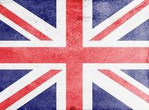 Union Jack flaga Zdjęcia Stock