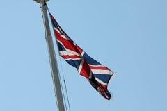 Union Jack/flaggan Arkivbild