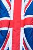 Union Jack-Flagge Stockfoto