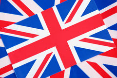 Union Jack Flags Stock Image