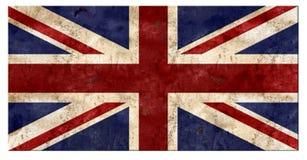 Union Jack Grunge Tin. Sign British Flag UK United Kingdom English England Football Team Club Rustic Rusted Metal Old Vintage Retro vector illustration