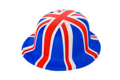 Union Jack Hat. Plastic Union Jack novelty hat royalty free stock photos