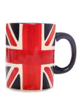 Union jack mug Stock Image