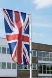The Union Jack, the national flag of the United Kingdom Stock Image
