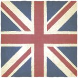 Union Jack old background Stock Photo