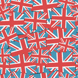 Union jack pattern Stock Image