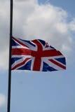 Union Jack-scène Royalty-vrije Stock Fotografie
