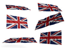 Union Jack Set Stock Photo