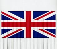 Union Jack Shredded imagem de stock royalty free