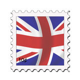 Union jack stamp royalty free illustration