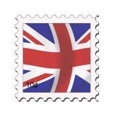 Union jack stamp. Union jack - british flag stamp design Royalty Free Illustration