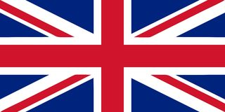 Union Jack - UK flag vector illustration Royalty Free Stock Photo