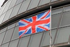 Union Jack urząd miasta zdjęcie royalty free