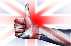 Union Jack royalty-vrije stock afbeelding
