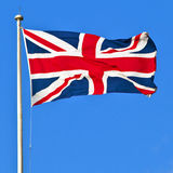 Union Jack von Großbritannien Stockbilder