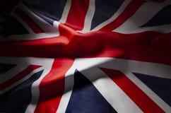 Union Jack w cieniach zdjęcia stock