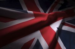 Union Jack w cieniach obrazy stock