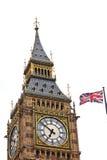 Union Jack y Big Ben Foto de archivo