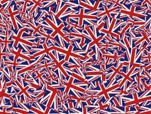 Union Jackcollage stock abbildung